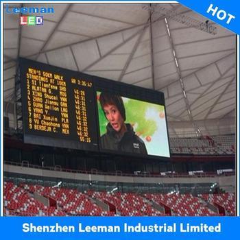 Platte Tv Kast.Voetbalstadion Tekenen Display 6mm Outdoor Tv Kast Digitale Led