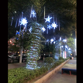 2017 gaint artificial palm tree christmas lights outdoor christmas decoration