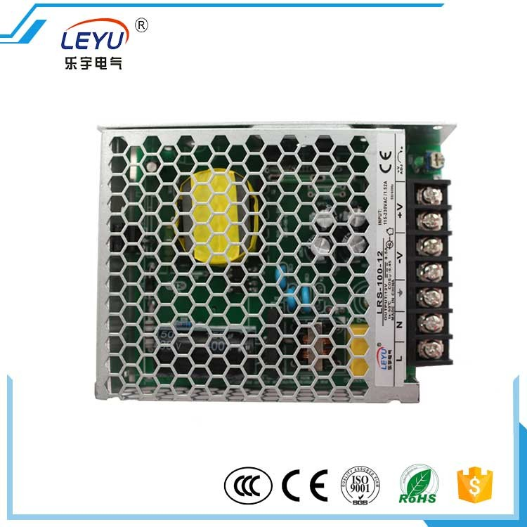 100w Single Output Voltage Lrs-100-12 12v Switching Power Supply ...
