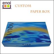 High level special paper cheap display gift box 20cm