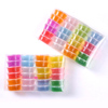 12 Colors Plasticine Modeling Clay Slime Play Crystal Mud