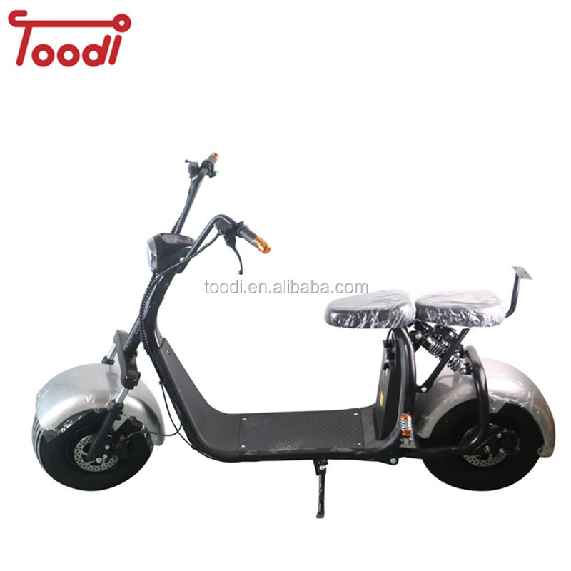 warehouse in Holland factory cheap electric scooter double seat with CE Toodi