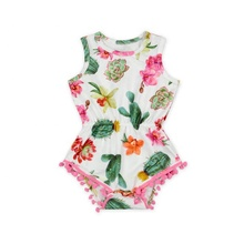 Groothandel Monogram Mouwloze <span class=keywords><strong>Peuter</strong></span> Jumpsuit Baby Eenhoorn <span class=keywords><strong>Romper</strong></span>