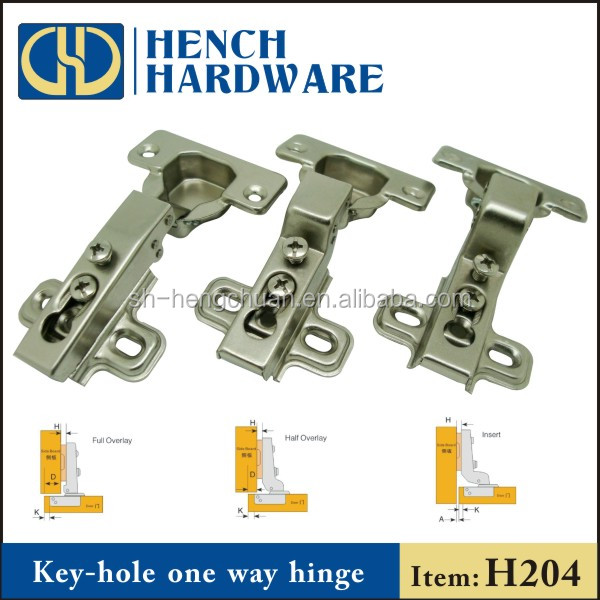 Kitchen Furniture Accessories Key Hole Hinge For Door And Cabinet ...