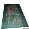 Craps Table Poker Layout