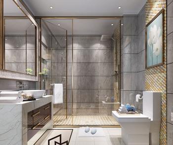 Hot Bathroom Designs Golden Vein Gray Polished Marble Grain Floor Glazed Ceramic Tiles Tile Porcelain Product