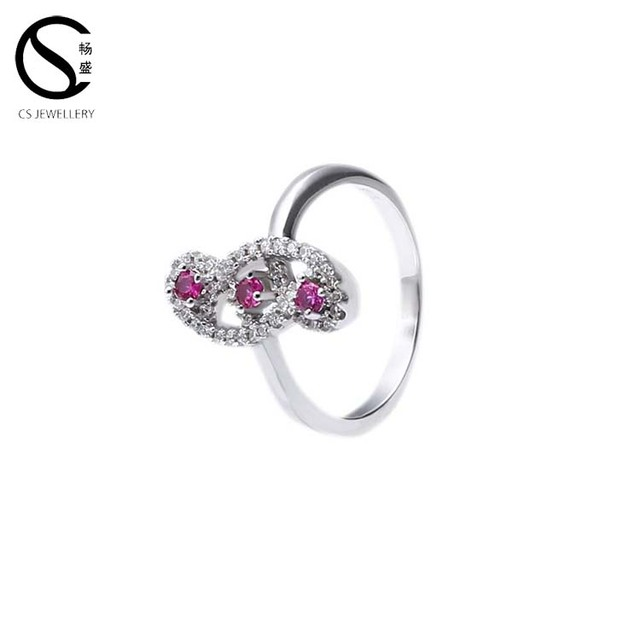 Whole China Trade Hand Ring 925 Sterling Silver Wedding Diamond Rings