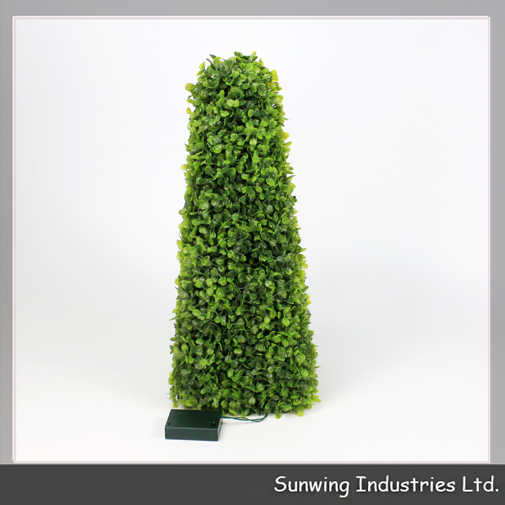 Decorative outdoor cheap pvc artificial topairy trees for for Cheap trees