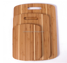 3 pieces Bamboo Cutting Board Set or Chopping board Block With Strip