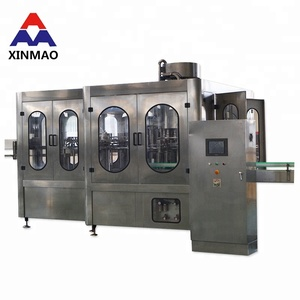 Hot sale beer cocktail carbonated drinks canning line filling machine /soda water filling machine
