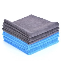 China Manufacturer Microfiber Towel Cleaning Eagle Edgeless 400gsm Microfiber cloth clean Micro fiber cloth