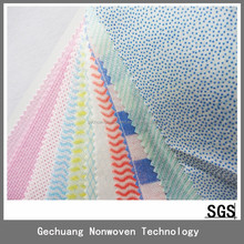 Abrasive cleaning cloth , hot oil absorbent PP spunlace nonwoven wipes with plastic/pvc/PE dots 55g