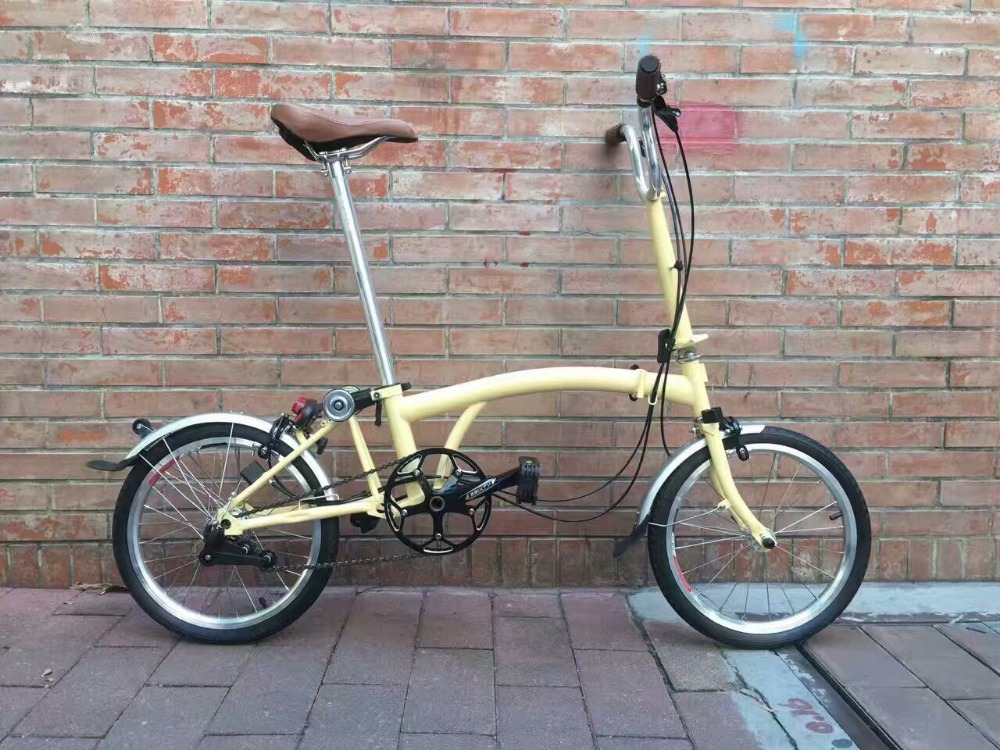 16 inch BROMPTON FOLDING <strong>BIKE</strong> M3L 3 SPEED EXCELLENT CONDITION 2017 MODEL M3L M2L M3R M2R TWO SPEEDS classic folding bicycle