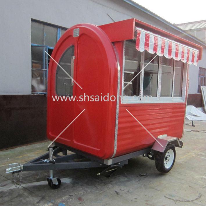 Mobile Burger Shop Concession Coffee Trailer Food Van