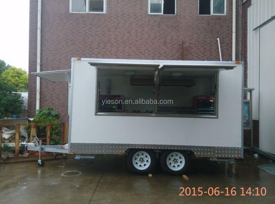 Yieson New Zealand Kebab Mobile Kitchen Truck Food Vansandwich Trailerhamburger Vending Cart With Promotion Price Buy Mobile Food Vanfood
