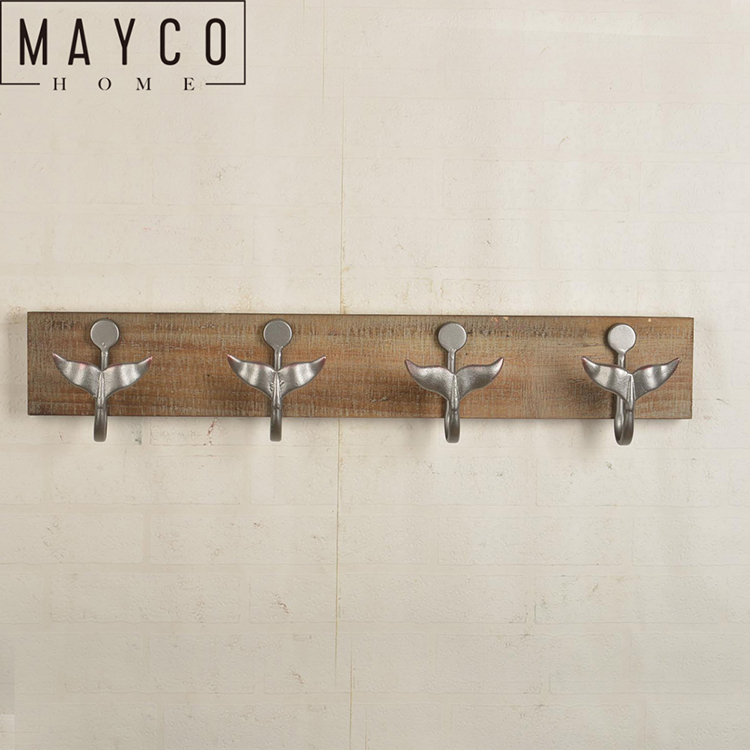 Mayco Unique Novelty Wall Mount Clothes Coat Hat Hanger Hook Rack