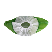 Long Life Waterproof Green Disposable Anti Skid Shoe Covers