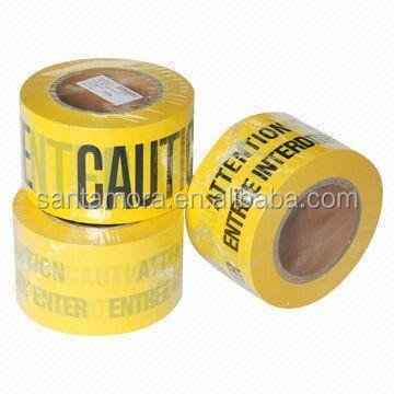 Traffic safety plastic barrier Hazard Warning Barricade Caution tape