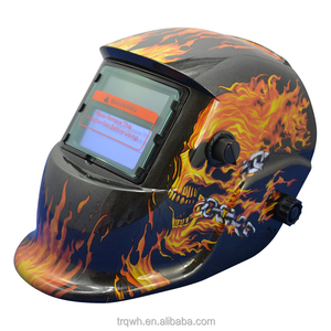 blue eagle funny custom din16 light weight solar darkening welding helmet