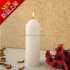 2016 Most Popular White Pillar Candles