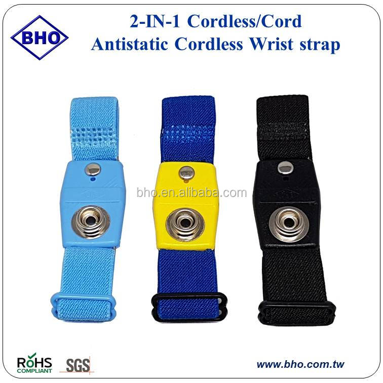 Wearable Devices Imported From Abroad Professional Anti-static Wrist Band Esd Adjustable Strap Antistatic Grounding Body Bracelet Wrist Band