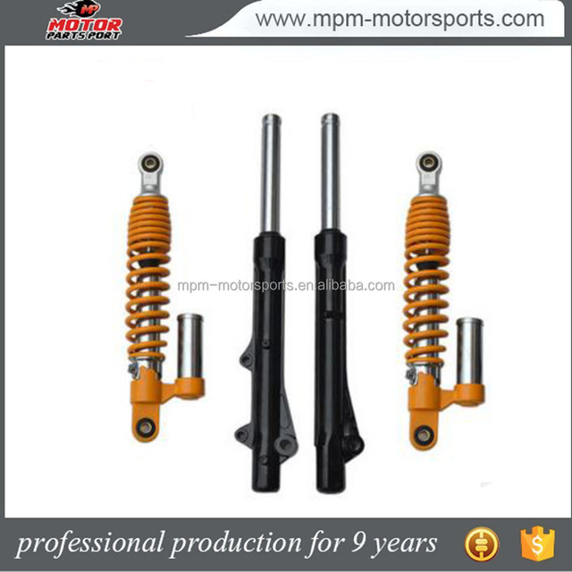 Aftermarket motorcycle front and rear shock absorber for Honda 125