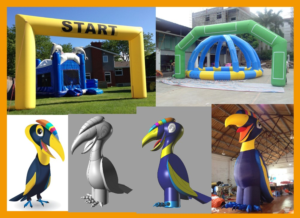 2020 Factory supply inflatable Triangular expansion product custom your size and color