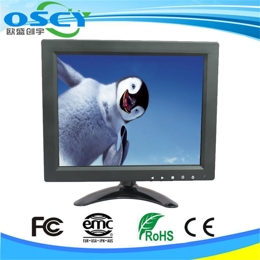 Small 9.7 inch LED tv Computer Monitor HDMI input With LED backlight