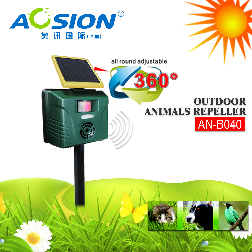 Aosion Factory Sale Crow Defense Expeller Bird Repeller Repulse Crow Deterrent China Solar Bird Chaser