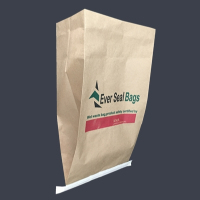 custom logo printed one layer paper mailer bag