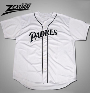 Cheap authentic white plain blank baseball jerseys for sale