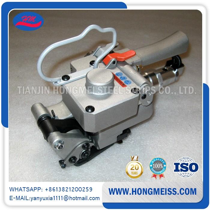 Aqd/xqd-19 Pneumatic Pet Packing Strap Machine