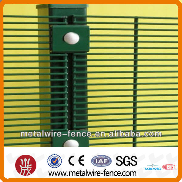 high security steel anti climb fence with 60x60mm post 2016 best quality steel anti climb fence