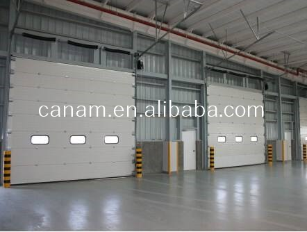 Fast Rolling Up Industrial Rolling Shutter Garage Door