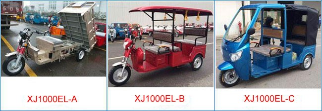 China 3 Wheel Electric Motorcycle Truck