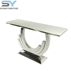 2017 hot sale cheap stainless steel furniture metal console table XG004