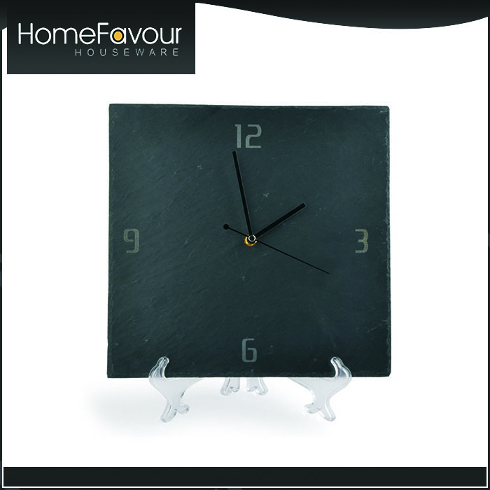 Customisable Packaging House Decoration Stoneware Wall Clock Sale