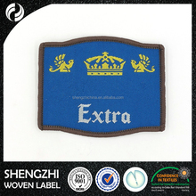 Art Embroidered woven badge anti-shrink Custom sport patch