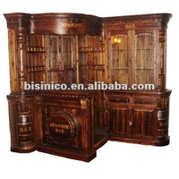 Antique Solid Wooden Bar Funiture/bar Cabinet/bar Chair/bar Table ...