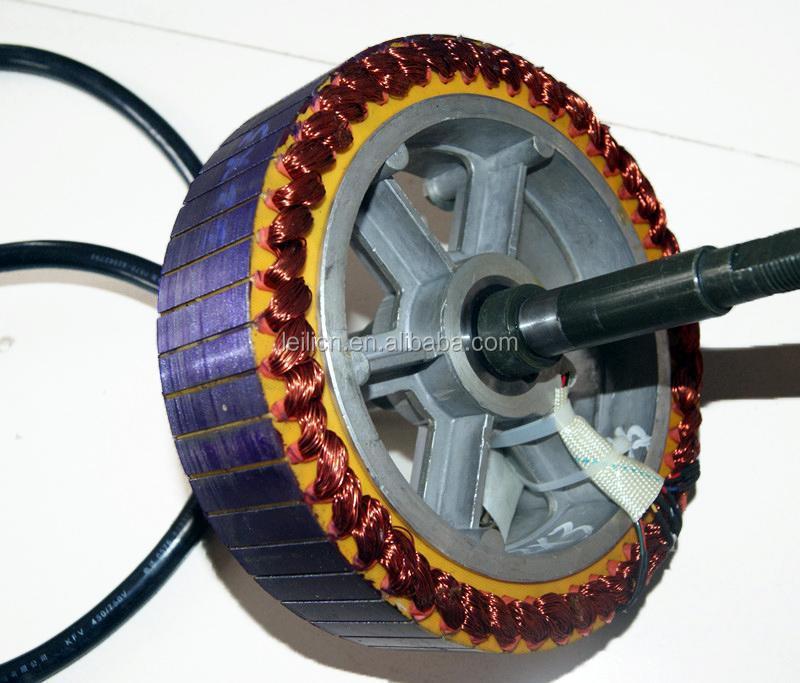 High speed high torque brushless gearless 5000w hub motor for High power brushless dc motor