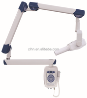 Wall mount dental x ray unit