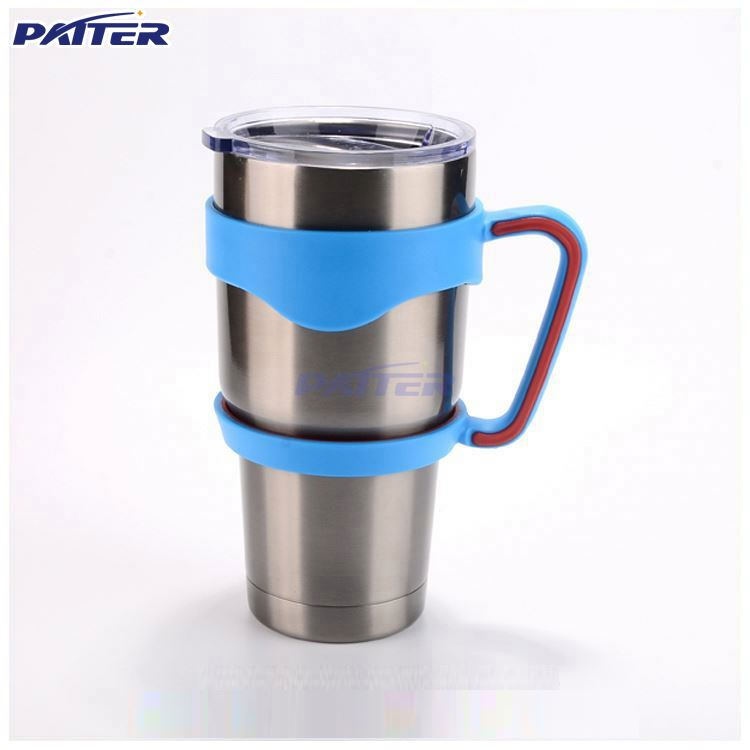 double wall stainless steel vacuum insulated tumbler with custom gas transfer printing finish travel mug