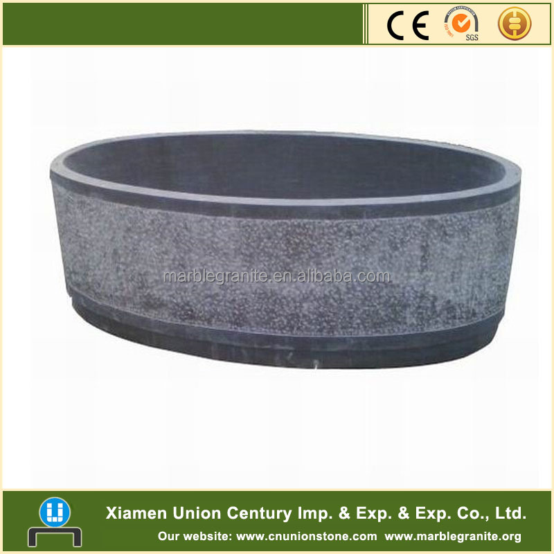 Limestone Bathtub stone tub carving
