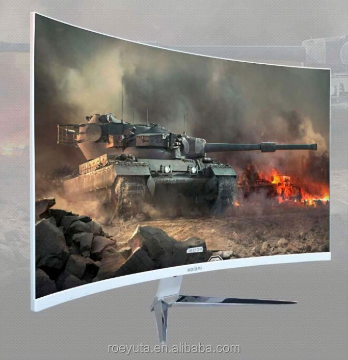 New Design Curved 4K 2K 3D Smart Tv Monitor 55 Inch