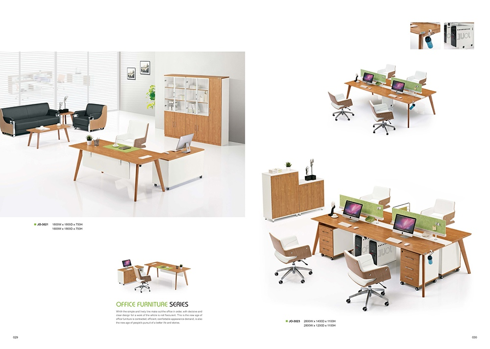 2016 factory eco friendly office furniture 4 person