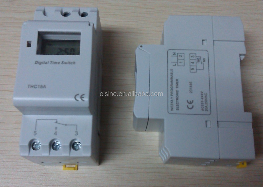 20amp Programmable Weekly Geyser Timer Switch(dhc15a,Thc15a) - Buy ...