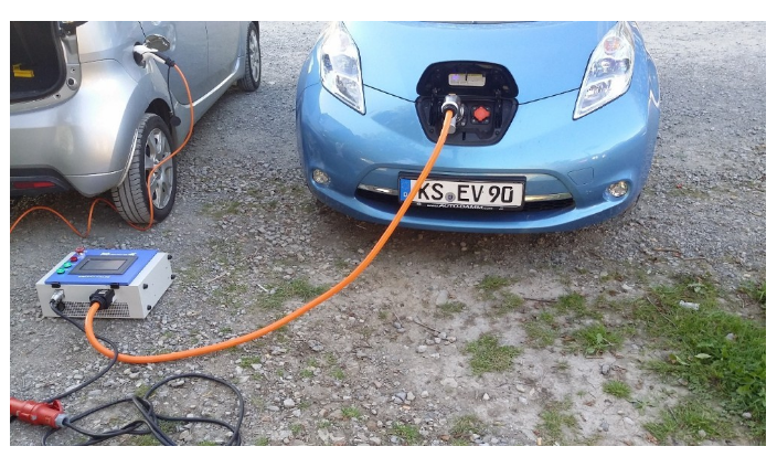20kw Chademo Portabel Charger