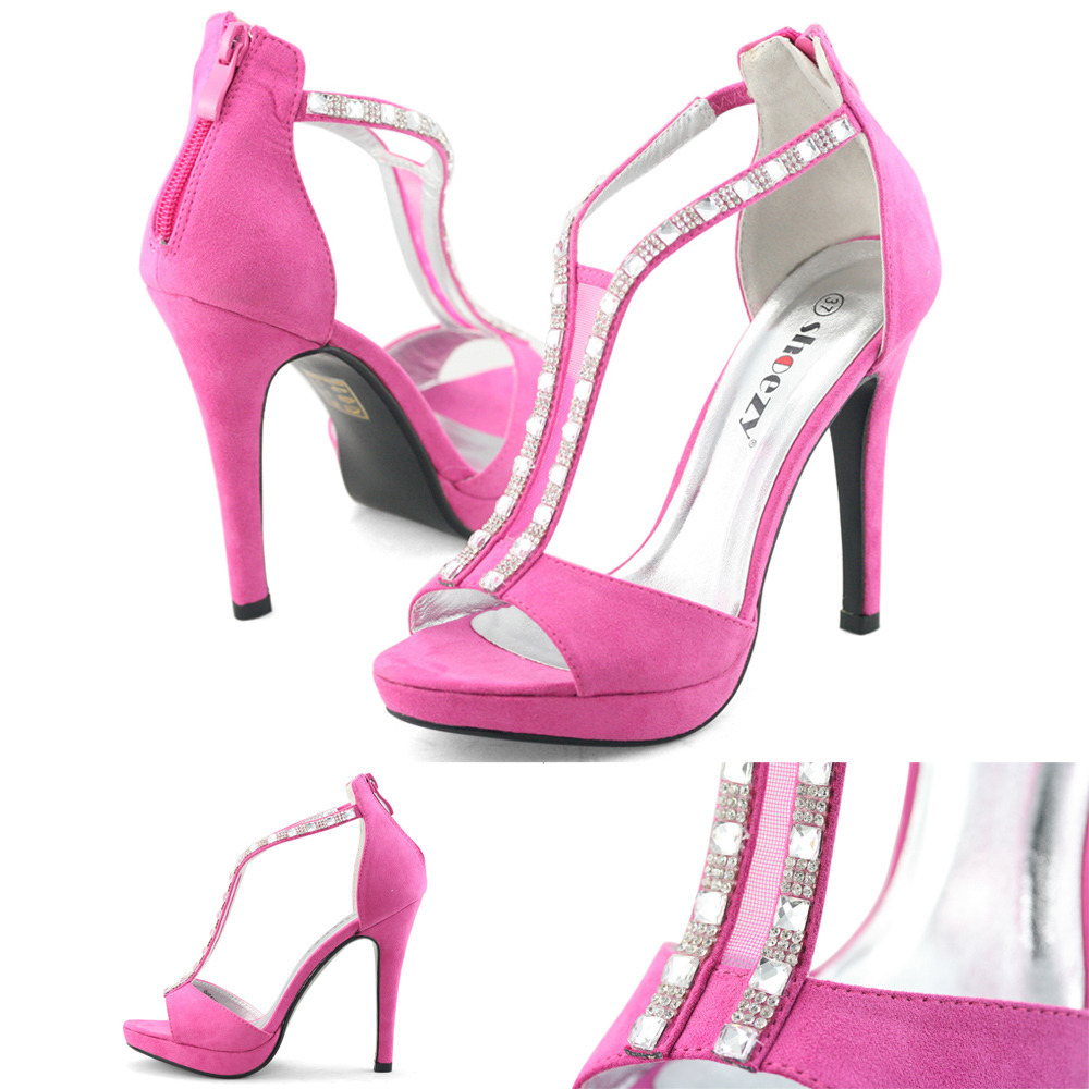 Featuring a round pointy toe, chunky heel, faux suede Shop for hot pink heels and shoes for Women, cheap discount prices on pink high heels at missionpan.gq Buy hot pink platform pumps in sued, lace, and patient PU on several different styles like barbie pink peep toe pumps, sandals and wedges.