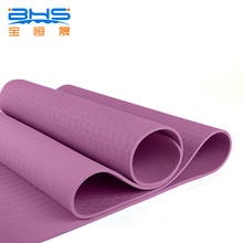 Wholesale ECO friendly material printing TPE/NBR/PVC 6mm yoga mat