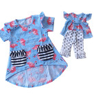 New Products baby girl party dress children frocks designs delicate children dress